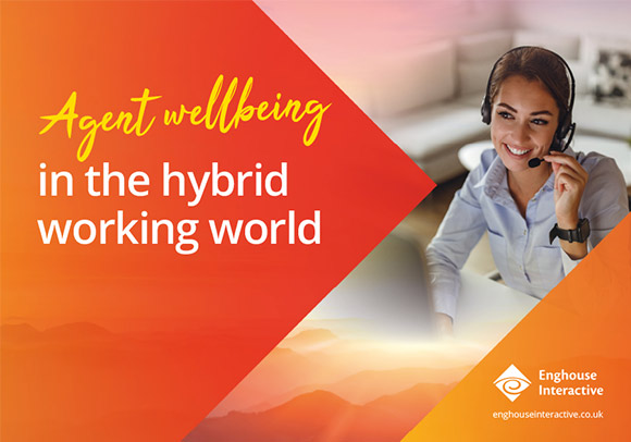 agent wellbeing in the hybrid working-world
